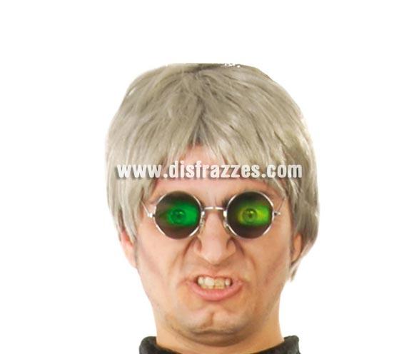 Gafas con ojos.