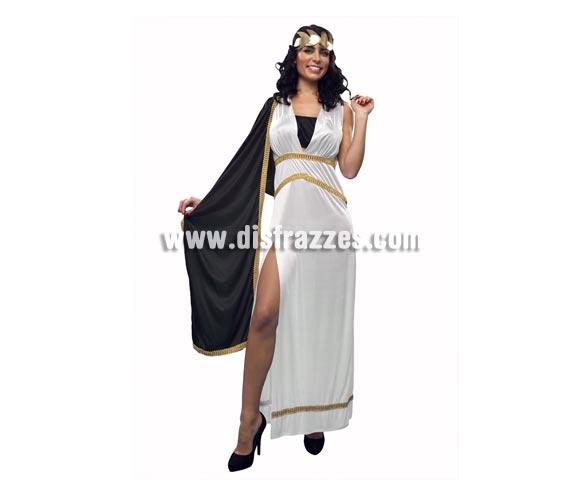 Disfraz de Romana Agripina para mujer. Talla standar M-L = 38/42. Incluye túnica, top y tocado.