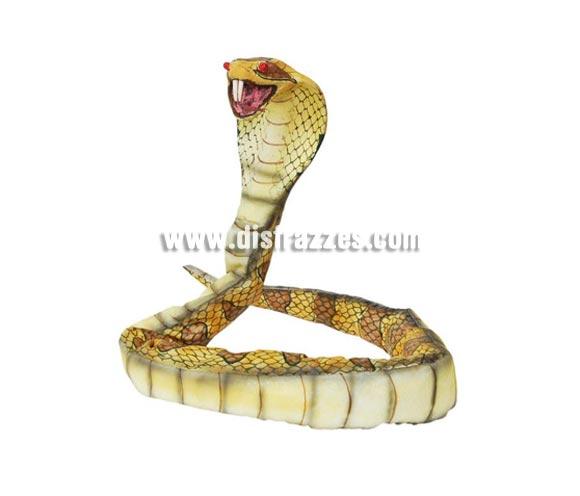 Serpiente con luz de 125 cm. para Halloween.