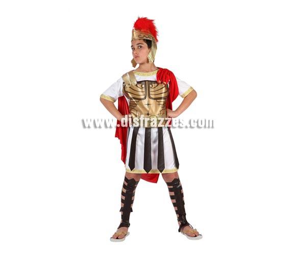 Disfraz de Guerrero Romano para niños de 7 a 9 años. Incluye traje completo.