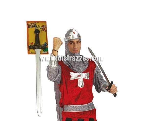 Espada de Noble Medieval de 72 cm. Ideal como complemento de tu disfraz de Medieval.