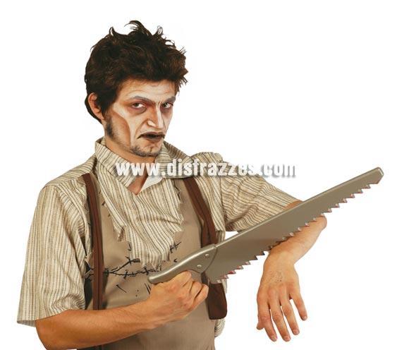 Serrucho de plástico de 53 cm. para Halloween.