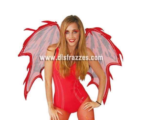 Alas de Demonio o Diablo de 73 cm. para Halloween.
