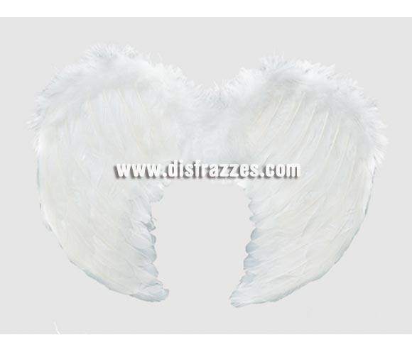 Alas de Ángel de plumas blancas de 40 x 36 cm.