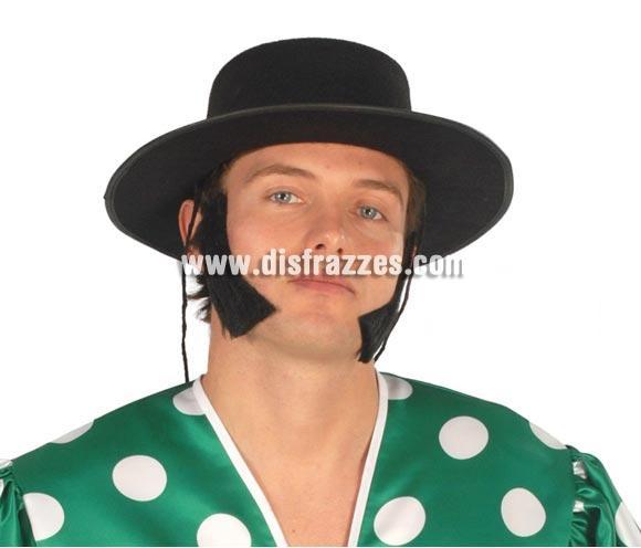 Sombrero fieltro Cordobés negro económico. Disponible sólo en color negro.