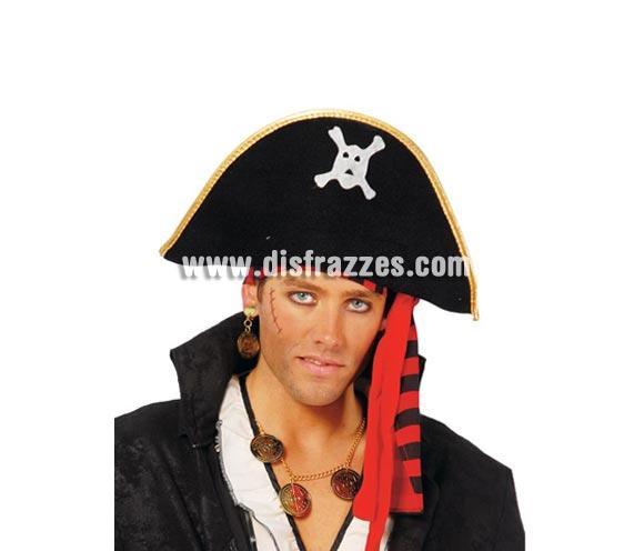 Sombrero de Pirata de terciopelo.