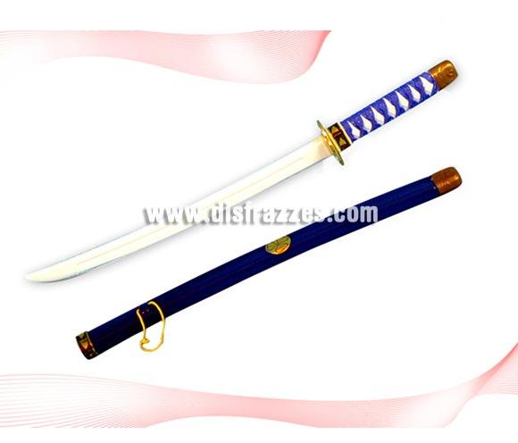 Espada barata de Ninja de colores surtidos para Carnaval. Ideal como complemento de tu disfraz. Medida aproximada 60 cm. ¡¡Compra el complemento para tu disfraz de Carnaval en nuestra tienda de disfraces, será divertido!!