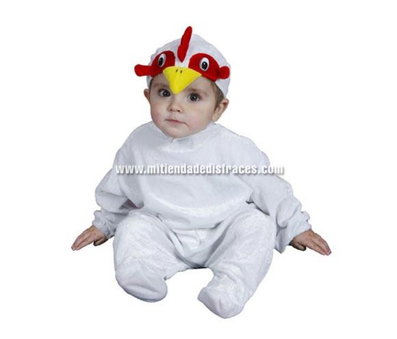 Disfraz de Gallo Bebé talla de 6 a 12 meses.