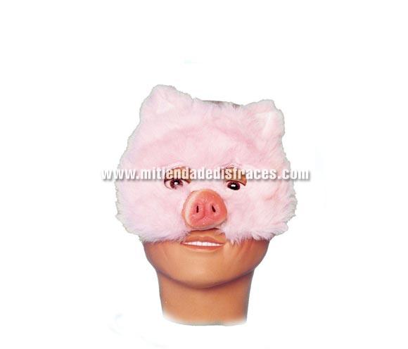 Máscara de media cara de Cerdito.