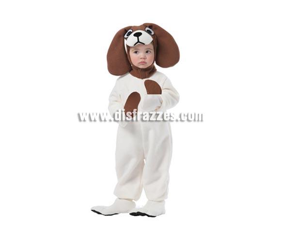 Disfraz barato de Perro Pachón para niños. Talla de 3 a 4 años. Incluye traje, capucha y cubrepies.