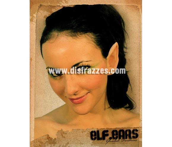 Maquillaje FX orejas de Elfo látex para Halloween