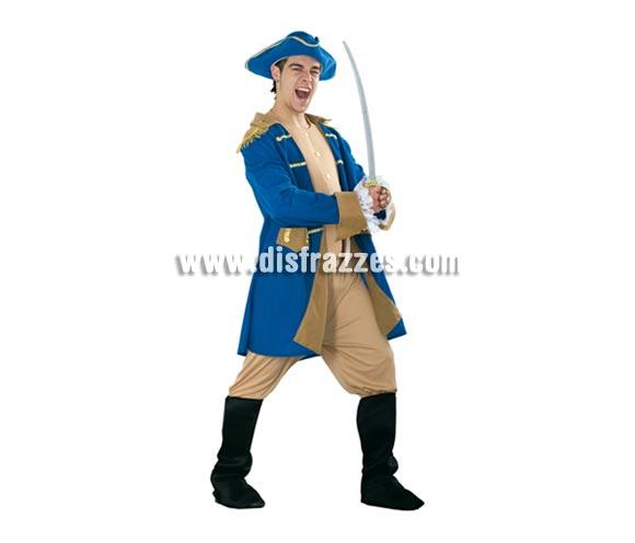 Disfraz de George Washington adulto. Talla standar M-L 52/54. Incluye sombrero, pecherín, chaqueta, pantalones con botas de tela. Con una peluca blanca, puede servir como disfraz de Época. También puede servir como disfraz de El Patriota como los que salen en la Peli de Mel Gibson.