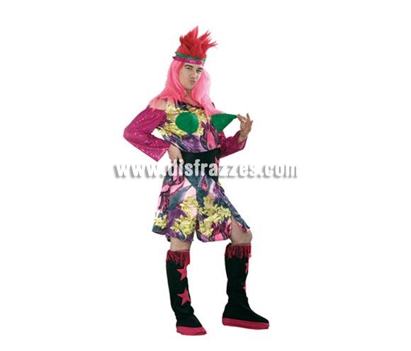 Disfraz barato de Drag Queen hombre. Talla standar M-L 52/54. Incluye Cinta para la cabeza, vestido, cinturón y cubrebotas. Éste disfraz es la caña para Despedidas de Soltero o para cualquier tipo de Fiesta a la que haya que ir disfrazado.