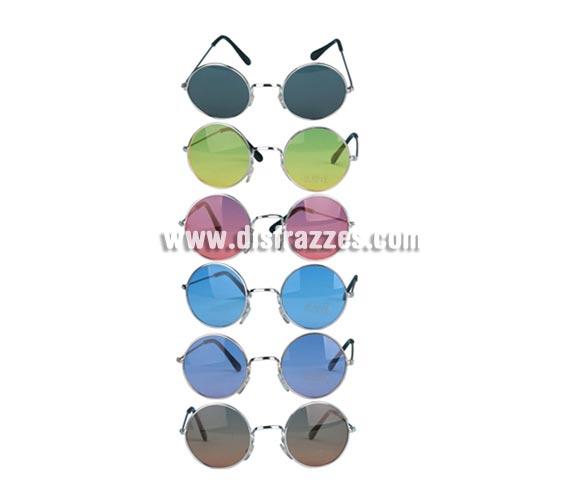6f0f928bb2 Gafas de Sol redondas Hippies 6 colores surtidos por sólo 2.75 ...