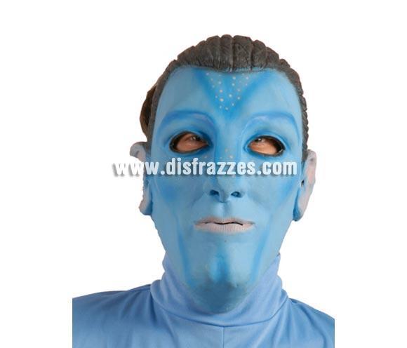 Careta o Máscara de Indígena Avatar hombre para Halloween o para disfrazarse en Carnaval.