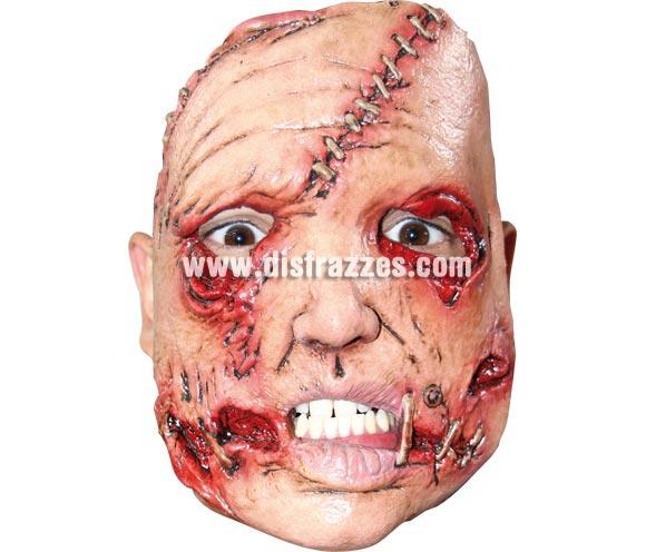 Máscara (10) de media cara de Asesino de látex. Alta calidad. Fabricada en látex artesanalmente por una empresa que realiza efectos especiales para Hollywood. Máscara o Careta de Halloween.