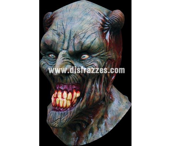 Máscara de Pyro Monstruo cornudo para Halloween. Alta calidad. Fabricada en látex artesanalmente por una empresa que realiza efectos especiales para Hollywood. Máscara o Careta de Halloween.