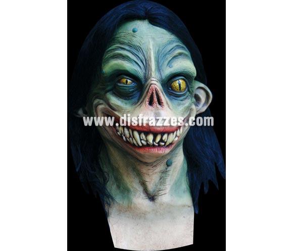 Máscara de Zapo para Halloween. Alta calidad. Fabricada en látex artesanalmente por una empresa que realiza efectos especiales para Hollywood. Máscara o Careta de Halloween.