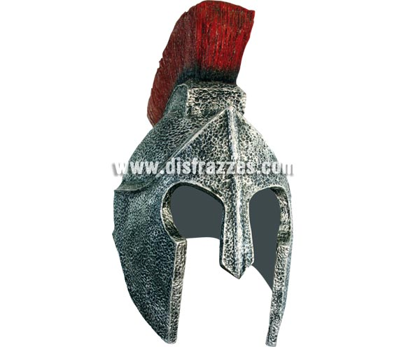 Casco Romano de látex para Carnaval o para Navidad. Roman Helmet látex.