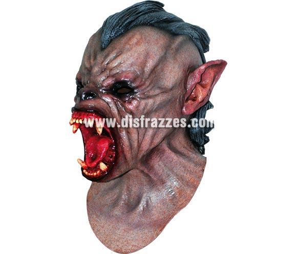 Máscara de Wolf Hombre Lobo para Halloween. Fabricada en látex artesanalmente por una empresa que realiza efectos especiales para Hollywood. Máscara o Careta de Halloween.