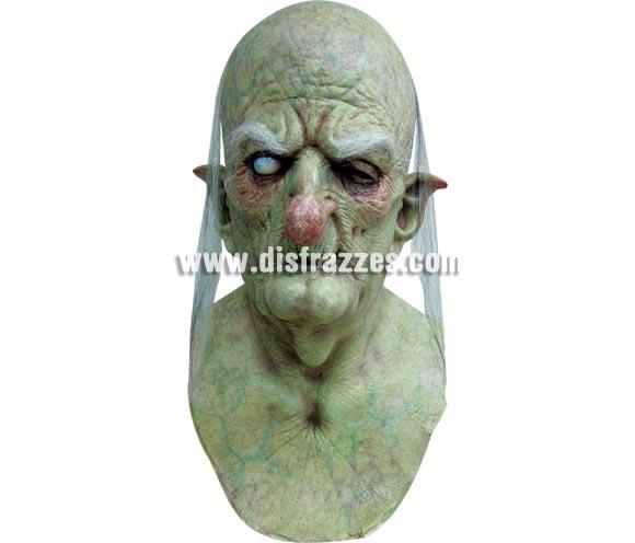 Máscara de Wicce la Bruja Hechicera para Halloween. Fabricada en látex artesanalmente por una empresa que realiza efectos especiales para Hollywood. Máscara o Careta de Halloween.