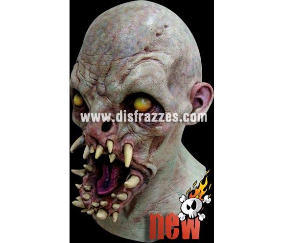 Máscara de Fangs boca llena de Colmillos para Halloween. Fabricada en látex artesanalmente por una empresa que realiza efectos especiales para Hollywood. Máscara o Careta de Halloween.