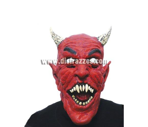 Careta o Máscara de Diablo o Demonio para Halloween.