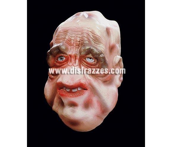 Careta o máscara de Monstruo Palido para Halloween. Ideal como complemento de tu disfraz de Halloween para ir de Fiesta a Pub's, Discotecas, Casas particulares o Restaurantes y ayudar a crear un ambiente terrorífico y tenebroso en la Fiesta de Halloween.
