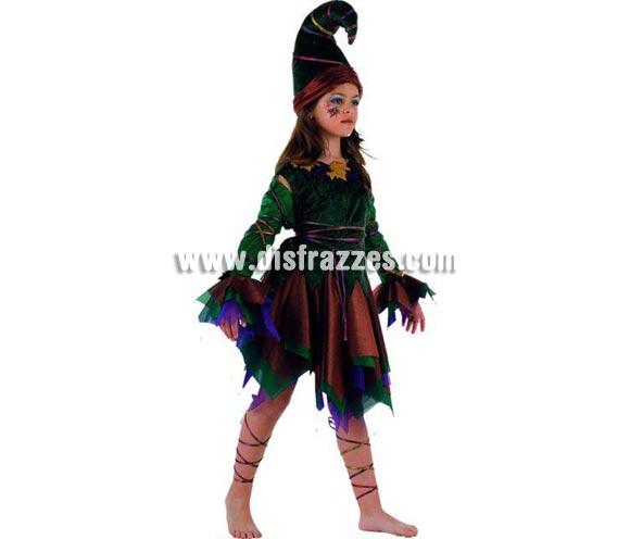 Disfraz Duende o Elfa para niñas (varias tallas)