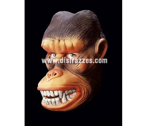 Careta o máscara de Gorila asesino para Halloween.