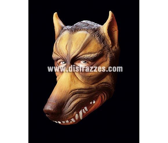 Careta de Lobo asesino de cabeza entera para Halloween.