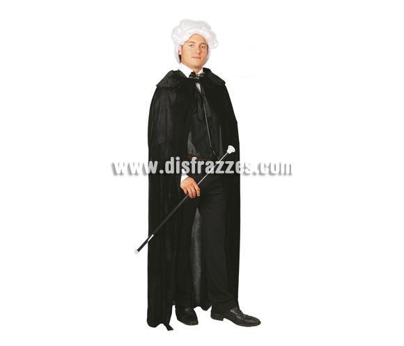 Bastón Dandi, Cabaret o de Drácula de 80 cm. para Carnavales y para Halloween para el disfraz de Drácula. También para disfraces de Época.