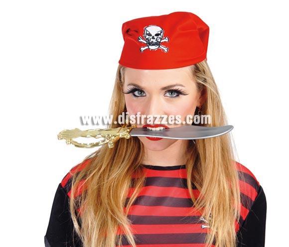 Daga o Puñal Pirata de 34 cm.  ¡¡Compra tu complemento para el disfraz de Carnaval en nuestra tienda de disfraces, será divertido!!