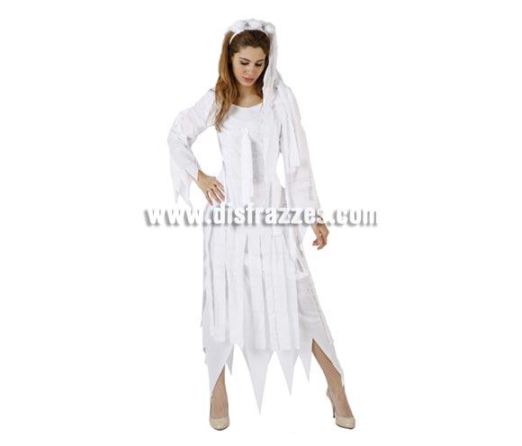 Disfraz de Novia de las Momias adulta para Halloween. Talla standar M-L = 38/42.