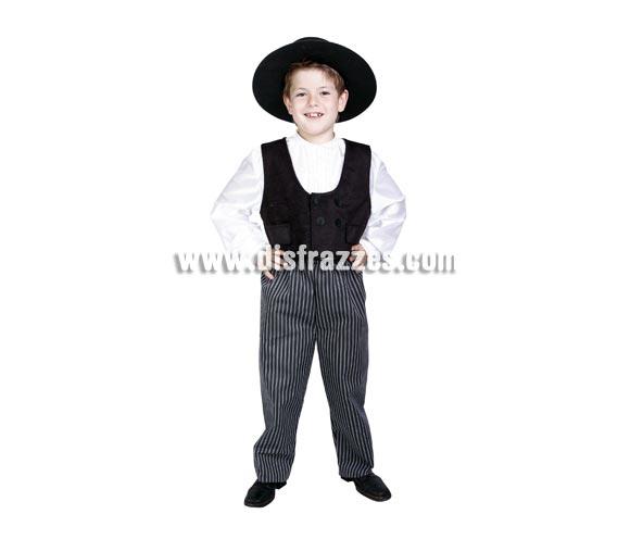 Disfraz de Cordobés infantil. Alta calidad. Hecho en España. Disponible en varias tallas. Sombrero NO incluido, podrás verlo en la sección Complementos. ¡¡Compra tu disfraz para Carnaval en nuestra tienda de disfraces, será divertido!!