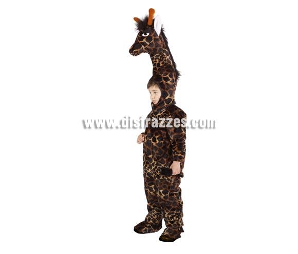 Disfraz de Jirafa infantil. Alta calidad. Hecho en España. Disponible en varias tallas. Incluye mono con cola y cabeza impresionante.