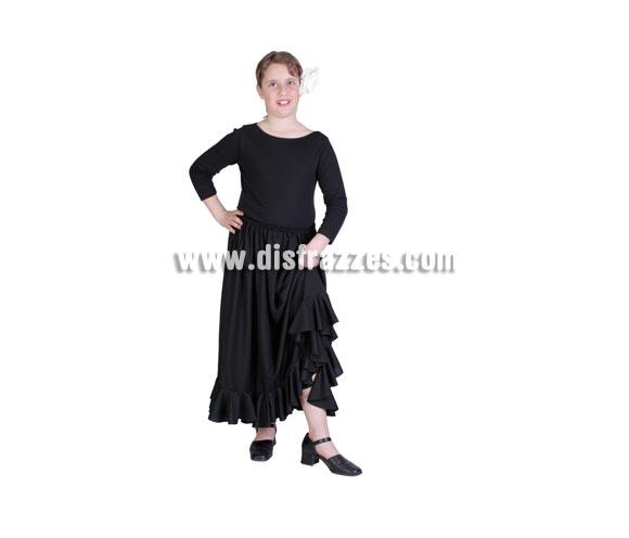 Falda Rociera infantil. Buena calidad. Hecho en España. Disponible en varias tallas. Incluye sólo la falda. Falda Flamenca.