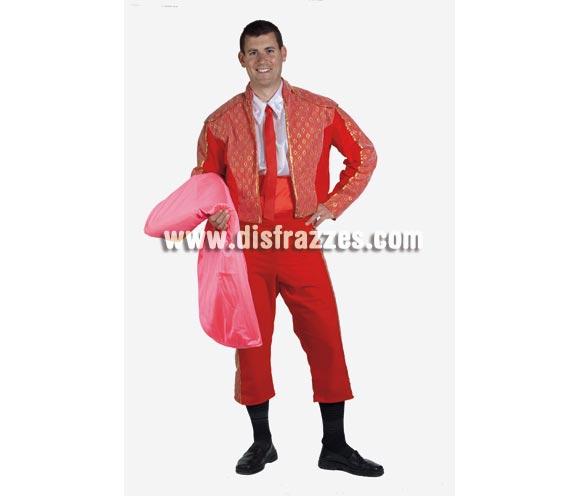 Disfraz de Torero adulto para Carnaval. Alta calidad. Hecho en España. Talla única 50. Capote NO incluido, podrás verlo en la sección Complementos.