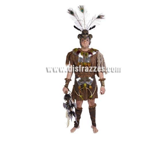 Disfraz de Tribal adulto para Carnaval. Alta calidad. Hecho en España. Talla única 52/56. Incluye Casco. Hacha NO incluida. Si buscas un disfraz diferente, aquí lo tienes,es espectacular.