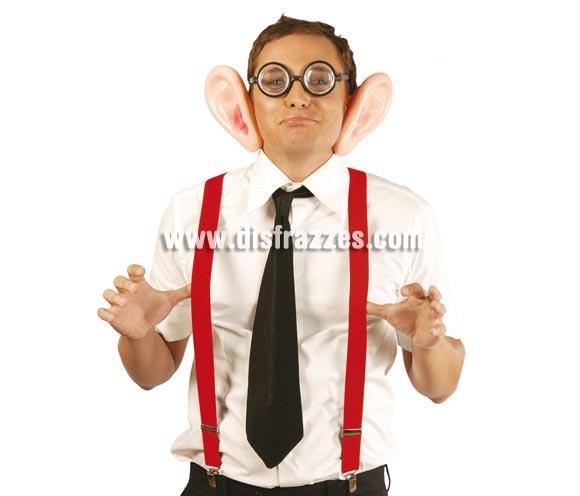 Tirantes de Payaso rojos elásticos. También pueden valer para los disfraces de Cordobesa y/o Cordobés.