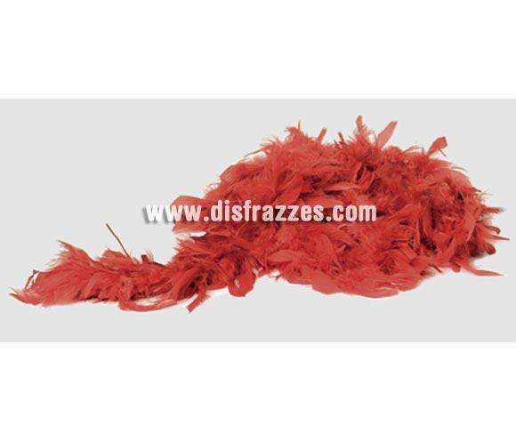 Boa de color Fucsia de 45 gr. NO inflamables. Aunque la foto sea roja, es de color fucsia.