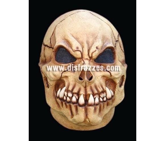 Máscara de Cráneo Calavera de látex para Halloween. Alta calidad. Fabricada en látex artesanalmente por una empresa que realiza efectos especiales para Hollywood.