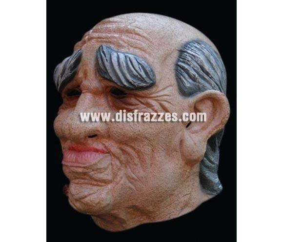 Máscara de Anciano de látex para Halloween. Alta calidad. Fabricada en látex artesanalmente por una empresa que realiza efectos especiales para Hollywood.