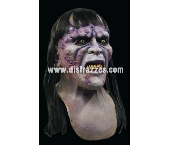 Máscara de Zombie Aida de látex para Halloween. Alta calidad. Fabricada artesanalmente por una empresa que hacen efectos especiales para Hollywood.