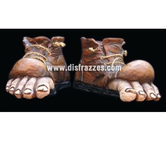 Zapatos de Vagabundo de látex. Alta calidad. Fabricado artesanalmente por una empresa que hacen efectos especiales para Hollywood.