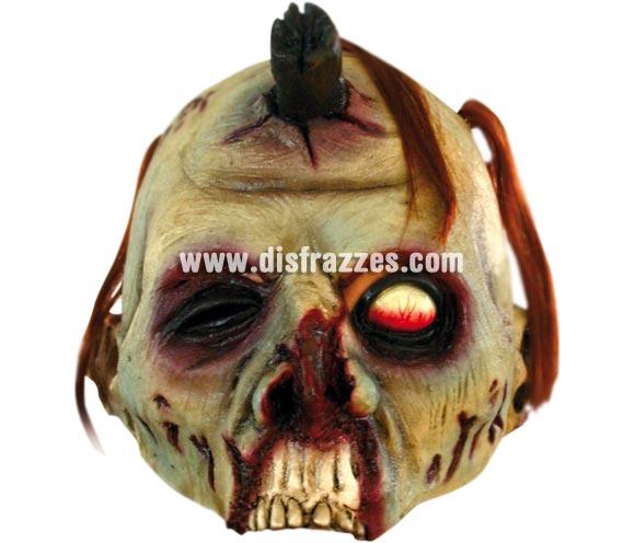 Máscara Open Zombie para Halloween. Media máscara de Zombie. Alta calidad. Fabricada en látex artesanalmente por una empresa que realiza efectos especiales para Hollywood.