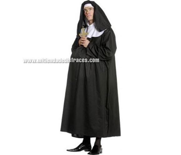 Disfraz de Monja Preñada Adulto.