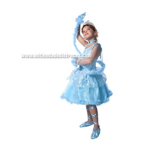 Disfraz de Princesa mi tu-tu rosa. Incluye vestido, zapatillas, manguitos, varita, collar y corona. Disponible en varias tallas.