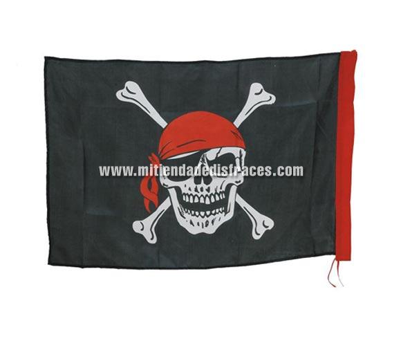 Bandera Pirata 90x60cm.