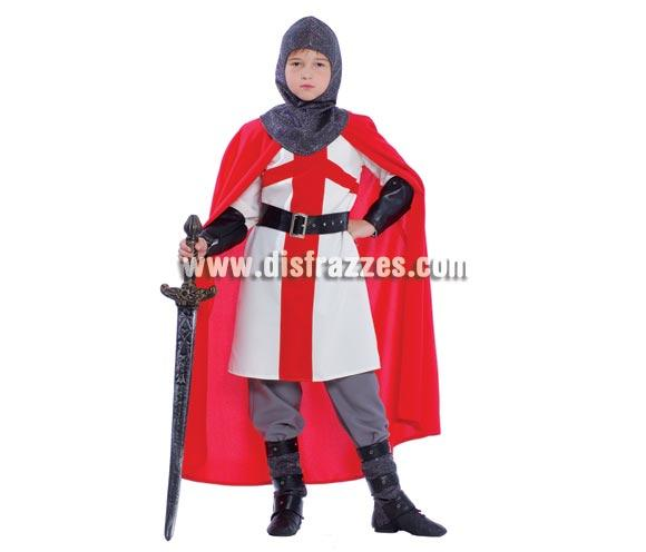 e8ee2e8a0 Disfraz barato de Caballero Cruzado 10-12 años para niño por sólo ...